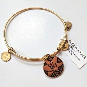 Alex and Ani Grandmother Gold Bracelet NWT